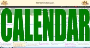 Art Center Calendar