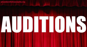 Upcoming Auditions