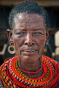 First Place Portrait of a Masai woman in Kenya - Jim Redding