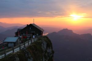 Austrian Alps Schafberg Hut