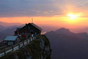 First Place Austrian Alps Schafberg Hut - Laura Kelly