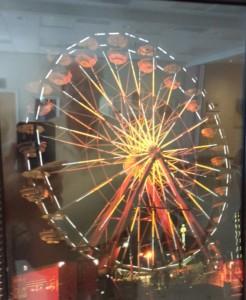 Ferris Wheel at Night, Pat Brady