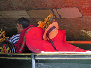 Relaxed Gondolier