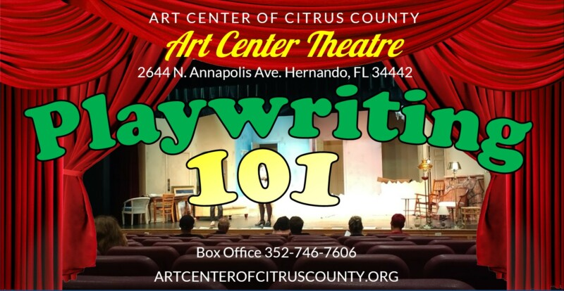 Playwriting 101 Theater Workshop with Patrick Erhardt – Art